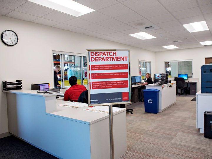 Tmx Dispatch Department 51 85405 Everett, WA wedding rental