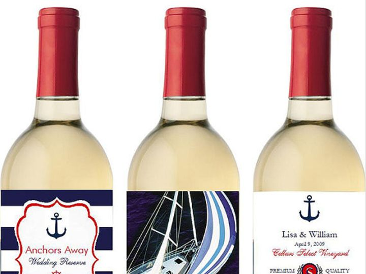 Tmx 1437321203648 Nautical Wine Labels 800 Livingston wedding favor
