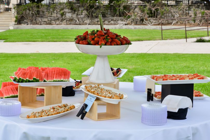Bon Appetit catering can provide a range of catering options and pricing.  From light receptions to...