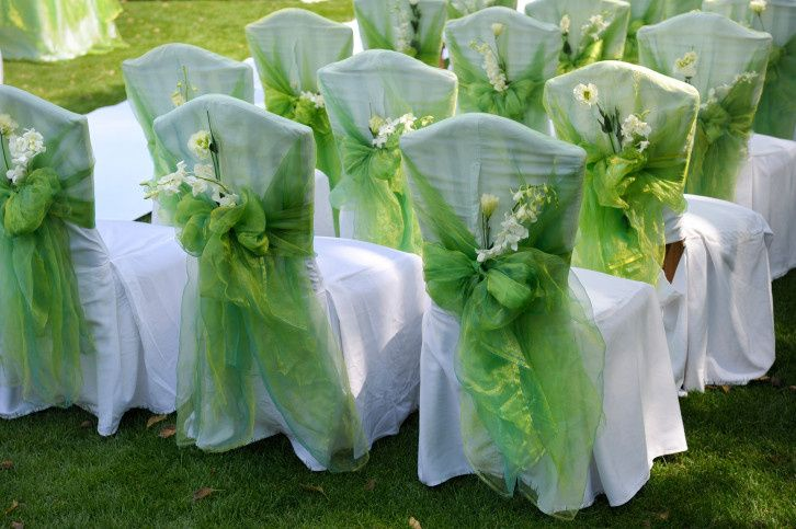 Green sashes