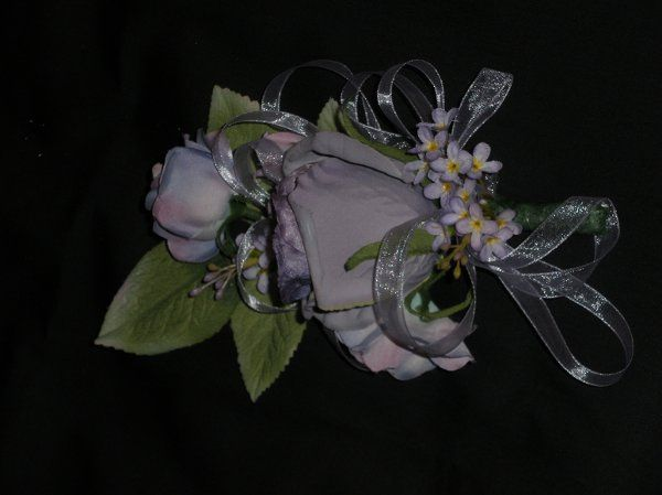 Silk Floral Mothers Corsage