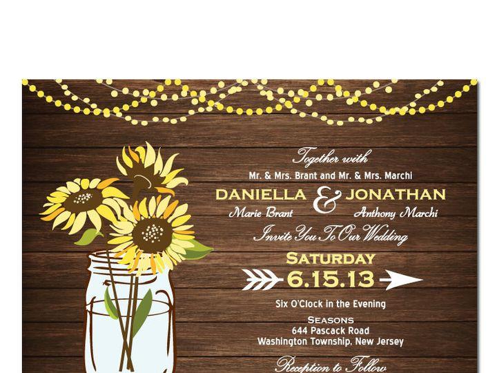 Tmx 1468088792357 Ilfullxfull.6149224342vep Highland Lakes, New Jersey wedding invitation