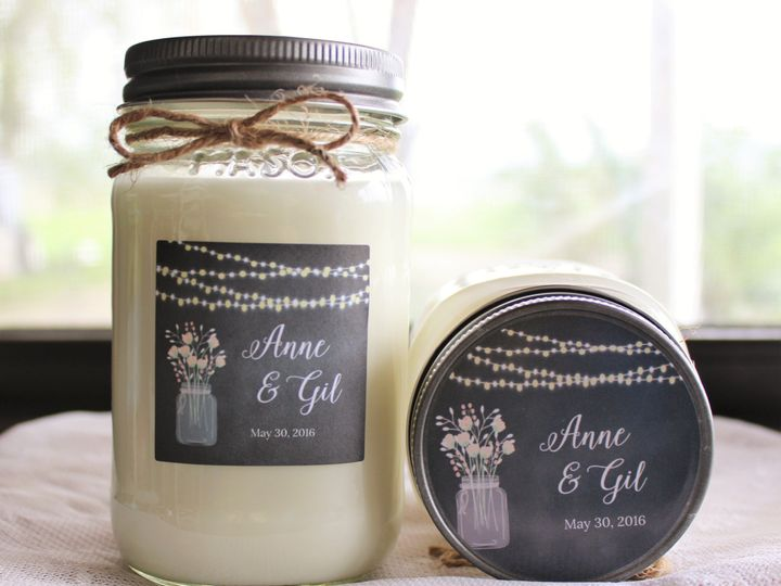 Tmx 1465616069198 Couple Candle Mead wedding favor