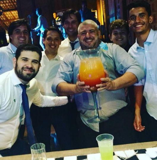 Big drinks for big guys!