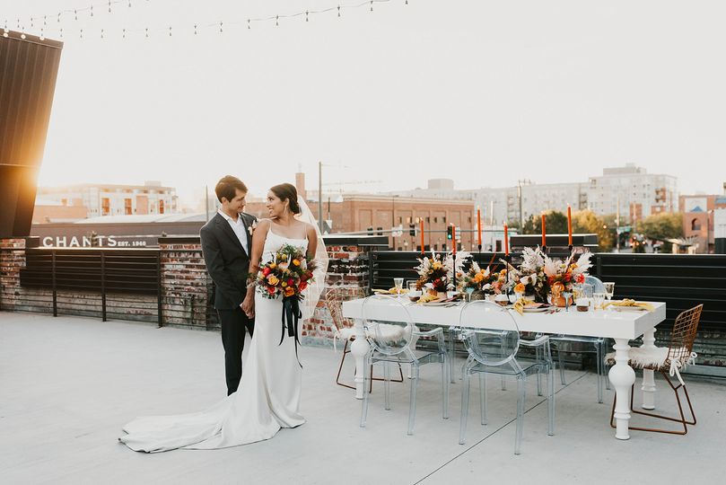 retro rooftop elopement asterisk denver meredith soy photography 151 51 1269405 160815621949361