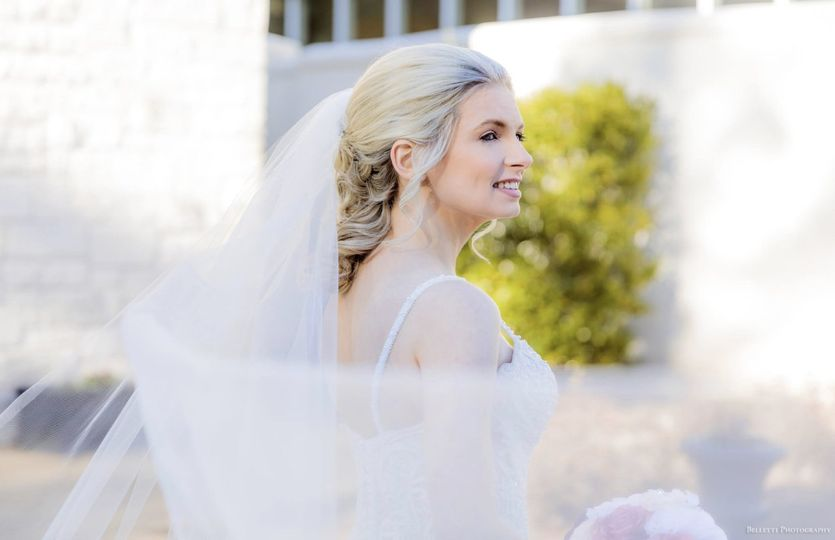 All Things Beauty Glamour Team - happy bride