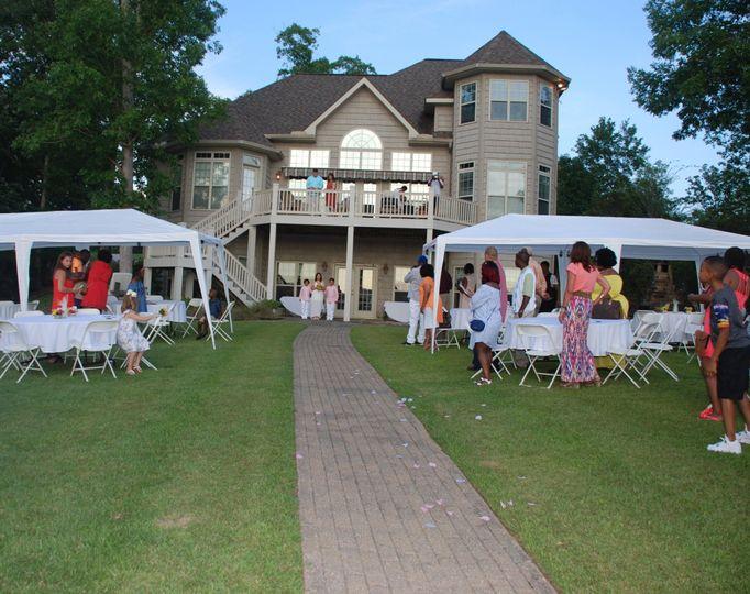 River house wedding