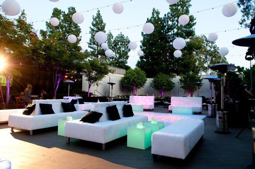 lounge on terracemitzvah kid seatin