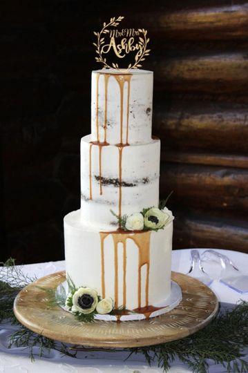 Drip Rustic Cake