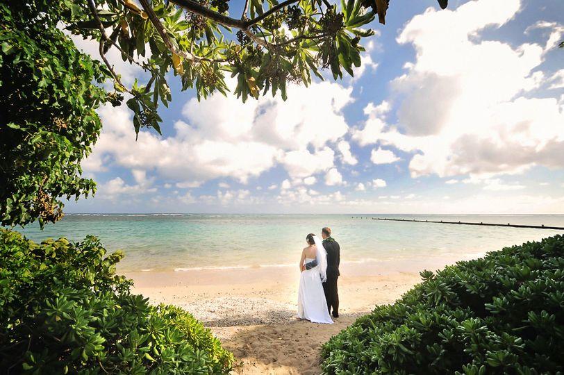 A Rainbow in Paradise Weddings