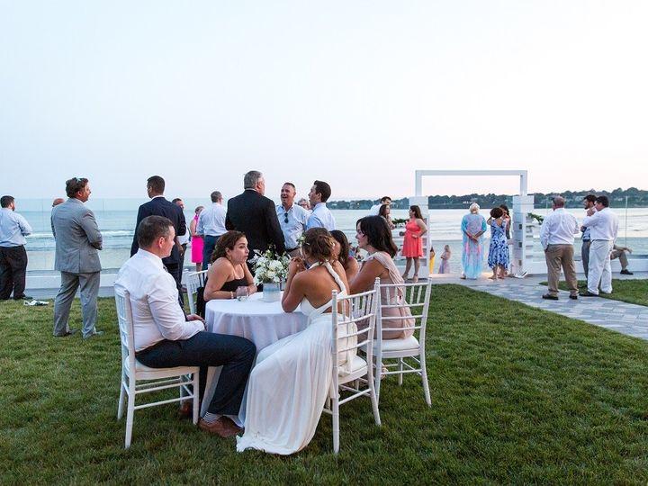 Tmx Newport Beach House Cocktail Hour Terrace 1 Maria Burton 51 903505 158464272424465 Middletown, RI wedding venue