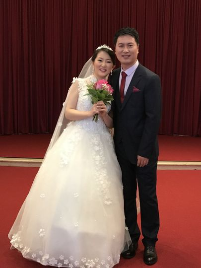Newlyweds at U of MD