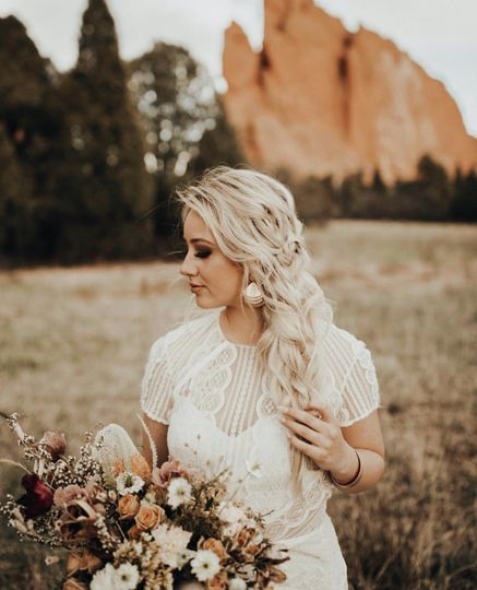 Bridal Hair by The Day