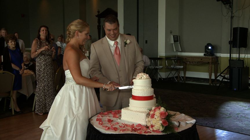 Cake cutting caught on camera!  And all the other special moments.  Check out our website to view...