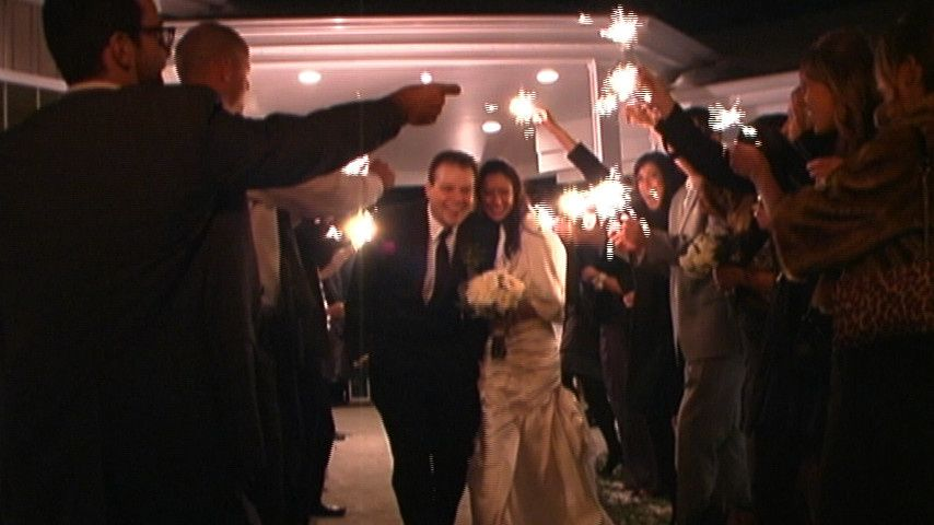 ...and their sparkling exit to happily ever after.  Visit www.TwoChinsProductions.com to see more of...