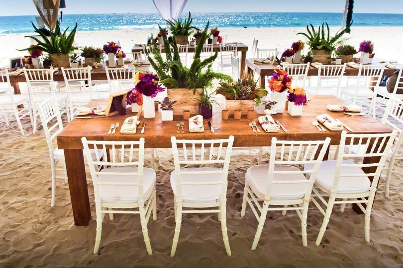 Reception on the Sand