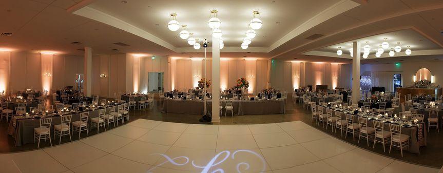 Large dance floor