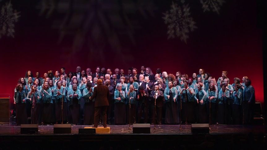Choir on the main stage