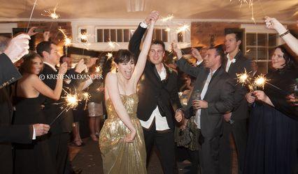 The wedding of Drew and Alexandra