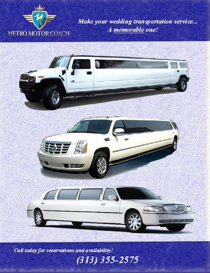 limo brochure