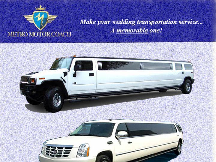 Tmx 1381185239833 Limo Brochure Utica wedding transportation