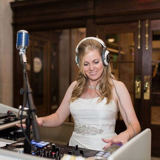 Bride Playing Tunes