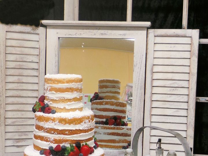 Tmx 1449461305362 Nakedcake Harrisburg, Pennsylvania wedding cake
