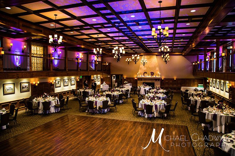Up lighting and Bliss Lighting at Moorestown Community House