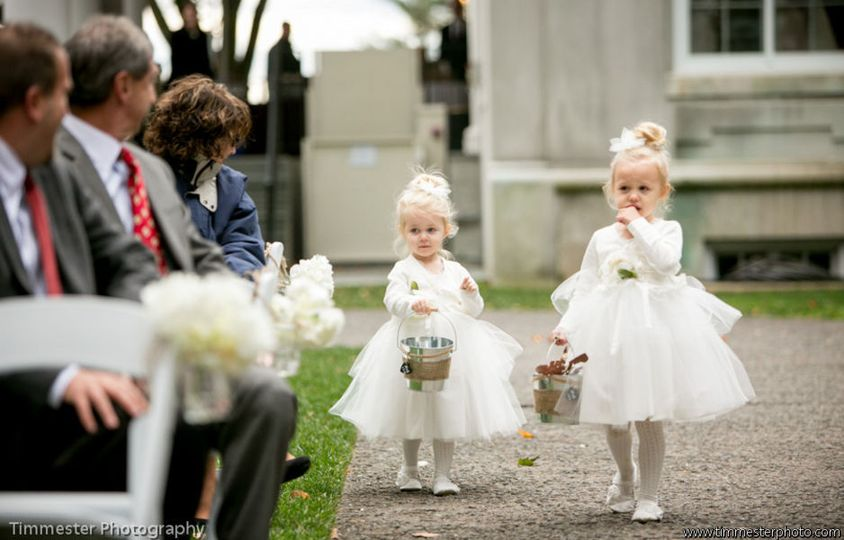 Flower Girls at Strong Mansion | Timmester Photography