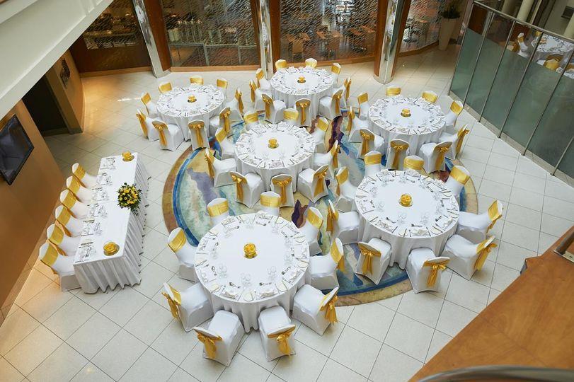 atrium wedding2