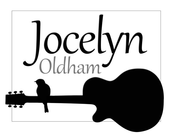 logo for jocelyn flipped guitar