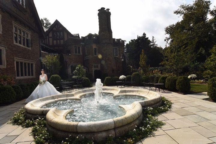 Courtyard & French Fountain