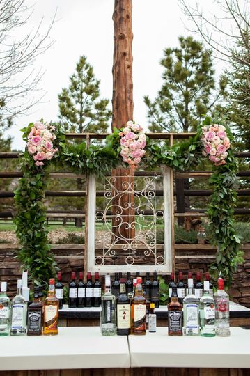 Bar services at the reception, Photo Credit: A + A Photography