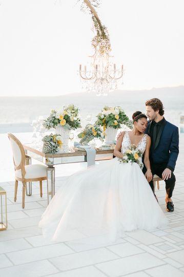 Luxury wedding in Mykonos