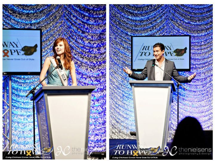 Tmx 1429194212201 Podium With Mario Lopez And Miss Usa Orlando, FL wedding eventproduction