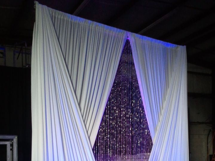Tmx 1429194926833 Diamond Swag With Crystal Curtains Orlando, FL wedding eventproduction