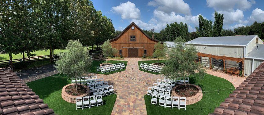 Courtyard Ceremony Site