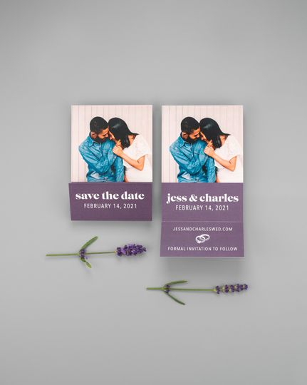 Matchbook Save the Date