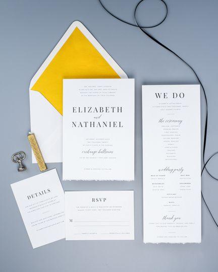 Simple invitations