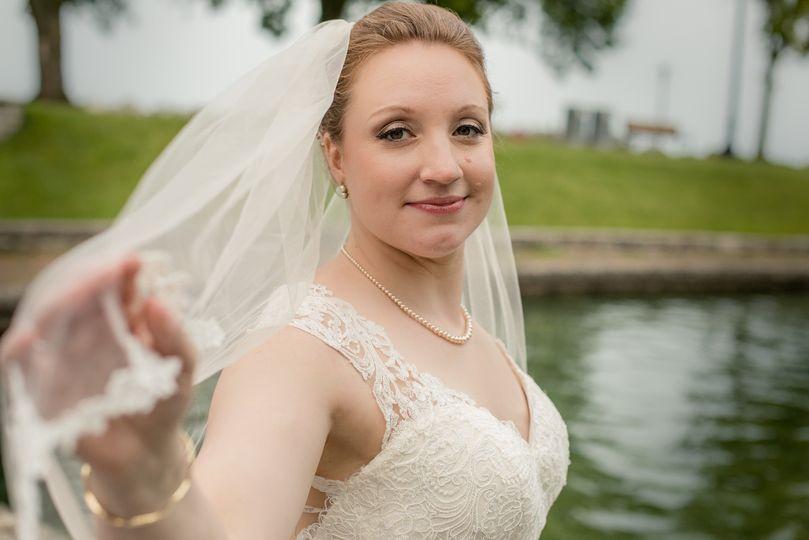 Smiling bride - JK Artistry