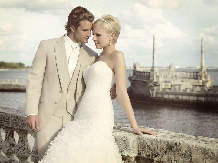 Tmx 1418150380460 Allure Tan With Bride 1 Princeton, NJ wedding dress