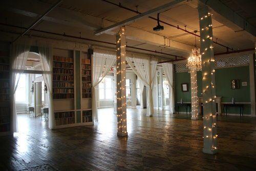 2nd floor reception area