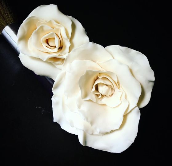 Handmade Fondant Roses