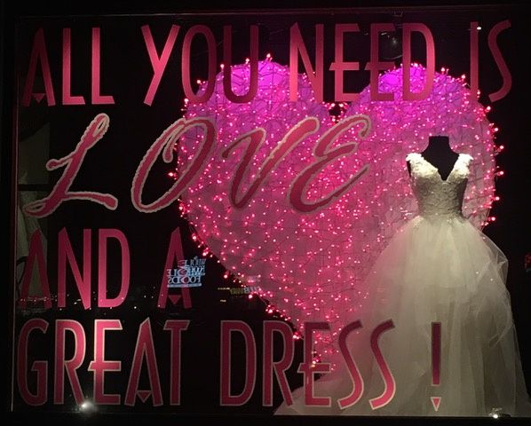 All you need is Love & a Dress