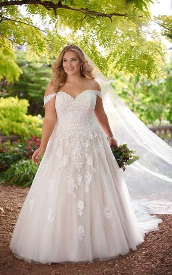 Beautiful plus size gowns