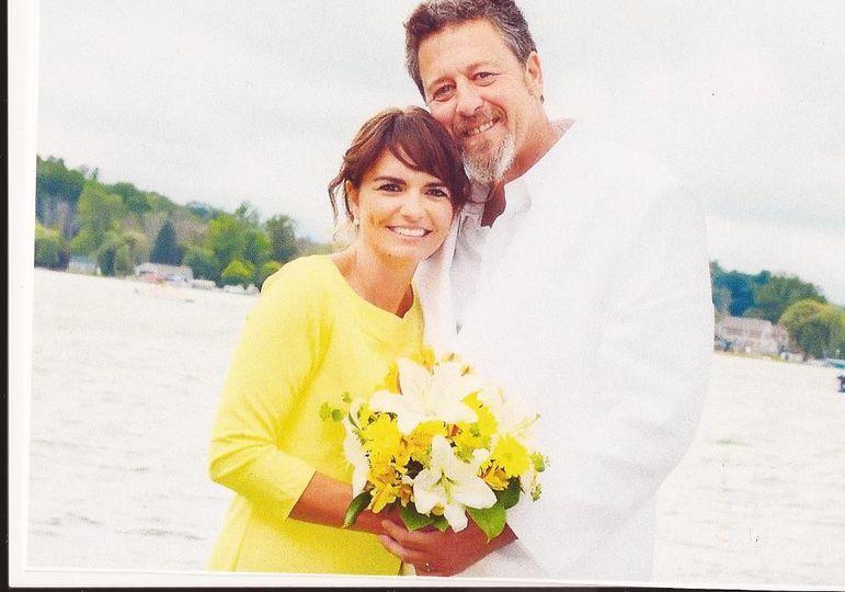 david and tenille wedding photo