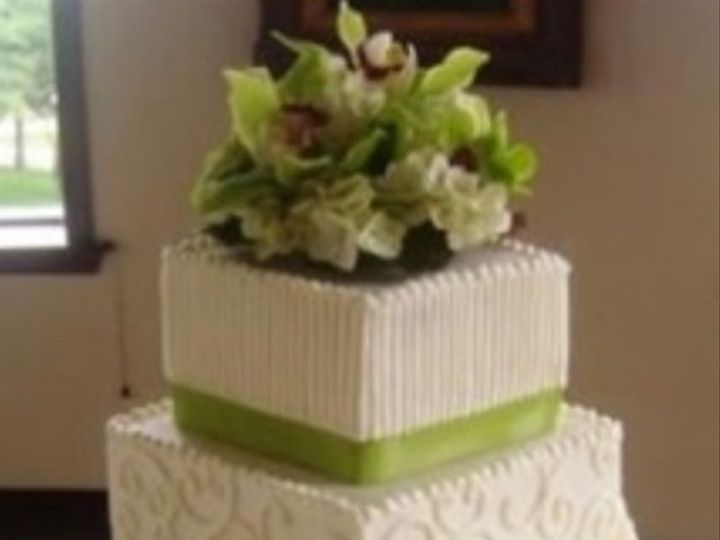 Tmx 1374851880336 Green Cake Broken Arrow, OK wedding florist