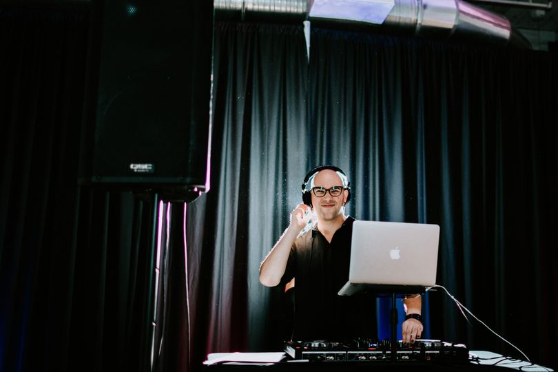 DJ ready to perform