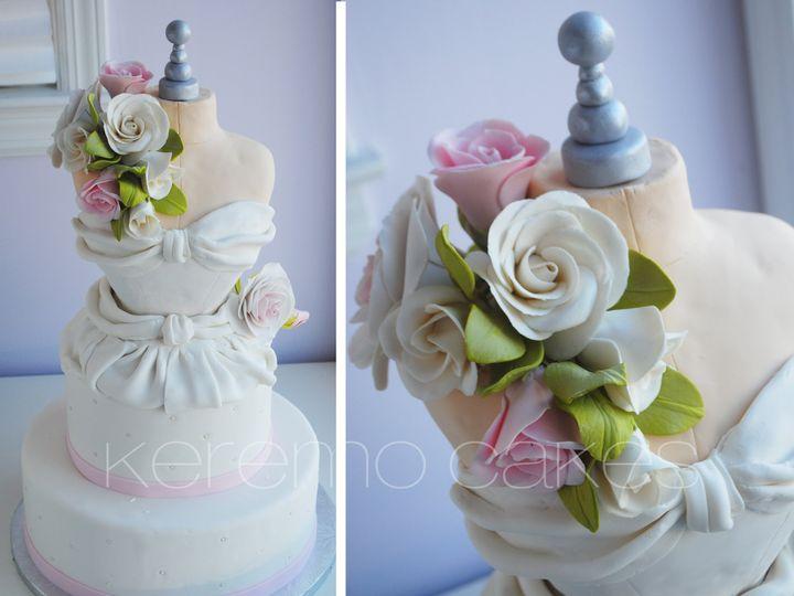 Tmx 1424895898773 Bride Dress Cresskill wedding cake