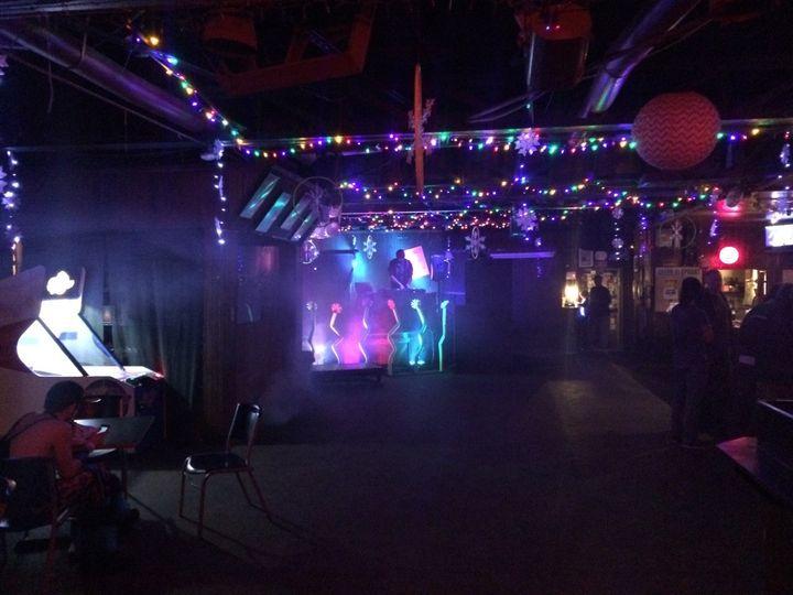 Lasers, fog, led lights